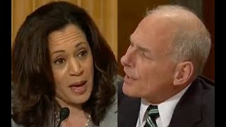 John Kelly Gets Pissed When Kamala Harris Interrupts Him 3 Times!
