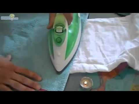 enlever de la cire de bougie de sur les vêtements - YouTube e5ac79a4292d