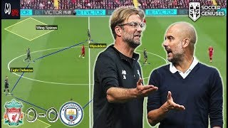 Liverpool VS Manchester City / How Either Teams Could've Won / Tactical Analysis