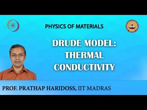 Drude Model: Thermal Conductivity