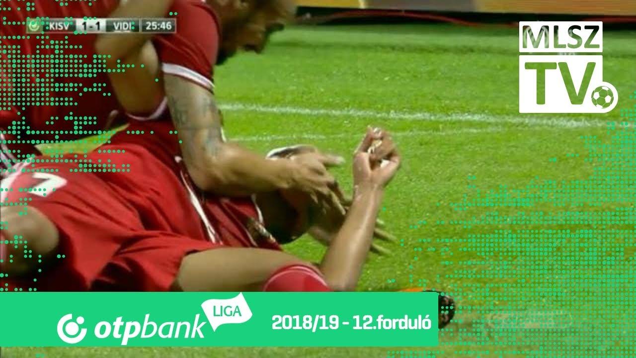 Jefferson Gomes De gólja a Kisvárda Master Good - Mol Vidi FC mérkőzésen