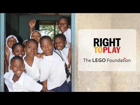 Right to Play UK | The LEGO Foundation Partnership - YouTube