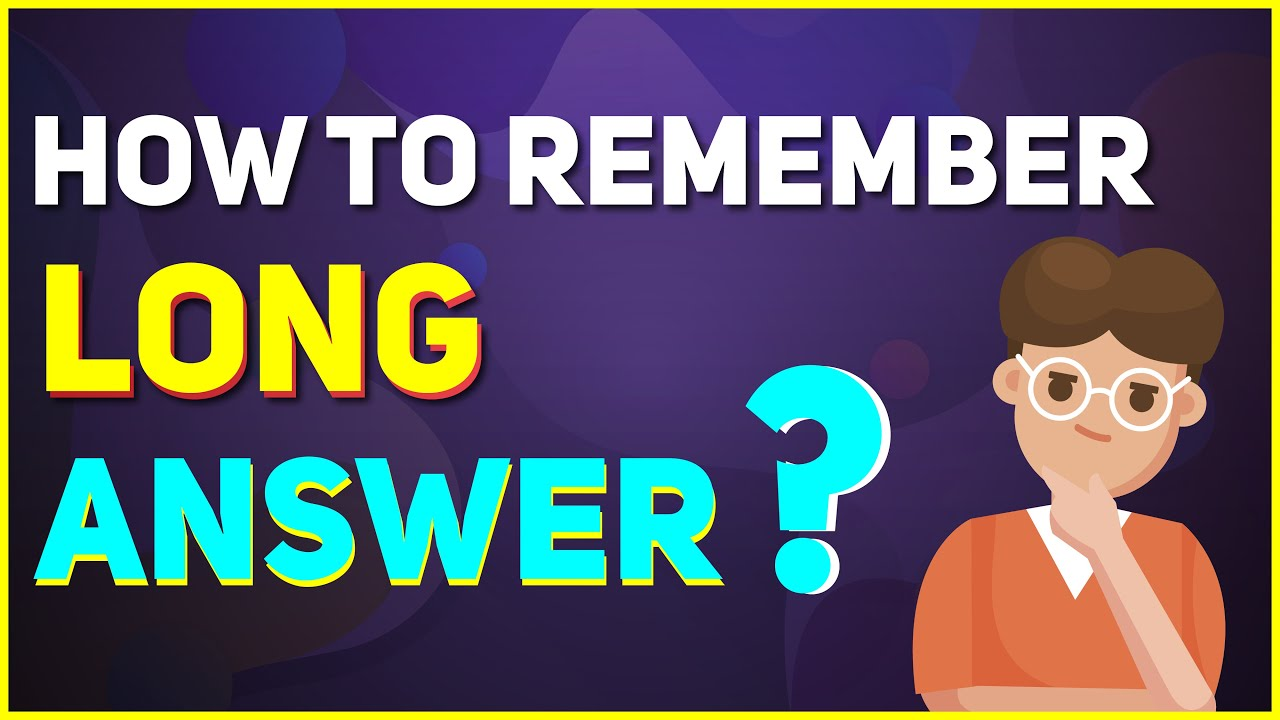 Download How to Remember Long Answers in Exams?   Board Exam Tips 2021   Letstute