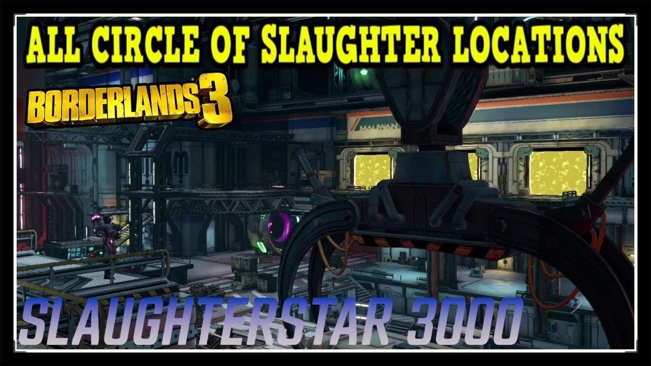 Circle Of Slaughter Borderlands 3