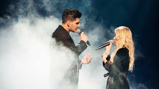 Gabriel Cancela och Lisa Ajax sjunger Dusk til Dawn i Idol 2017