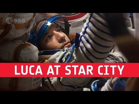 Luca Parmitano interview in Star City