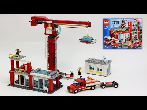 Construction Site 60004 Fire Station Alternate Model Youtube