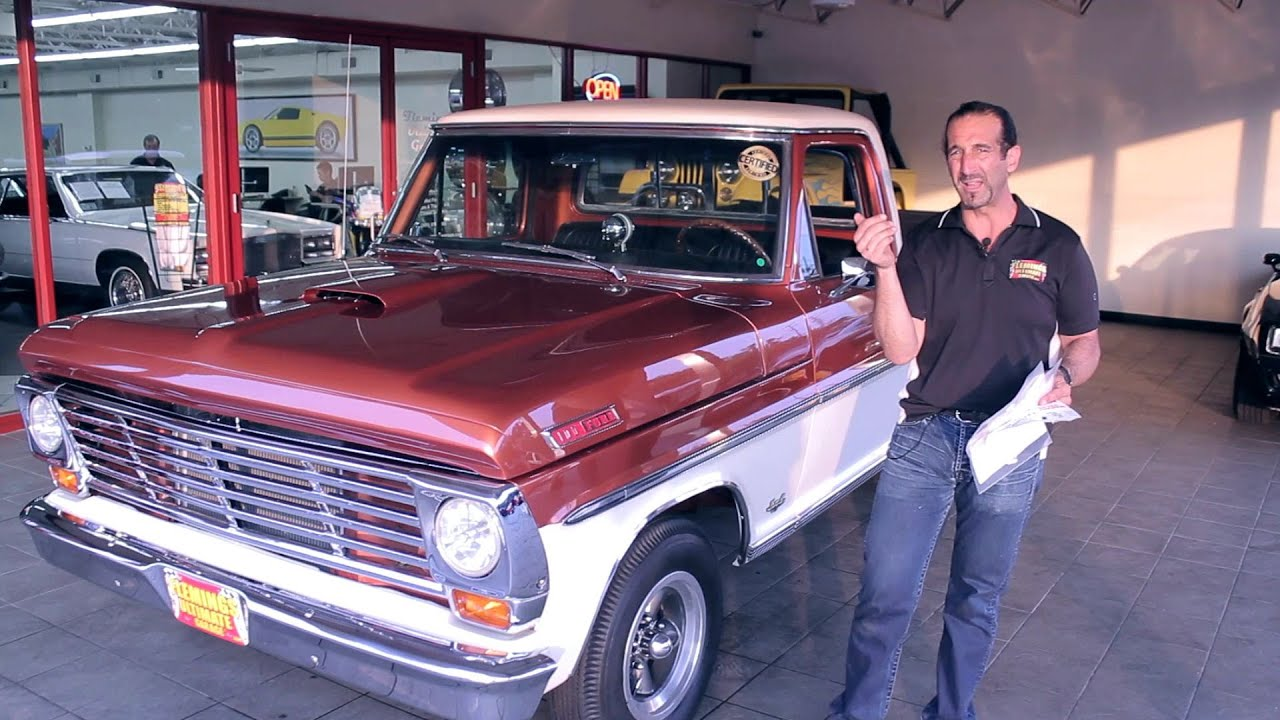 1967 Ford F100 Pickup sale with test drive driving sounds and