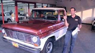 1967 Ford F100 Pickup sale with test drive, driving sounds, and walk through video