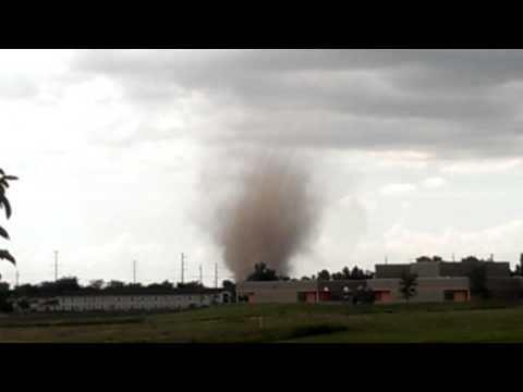 Tornado on the ground In Fort Lupton Colorado