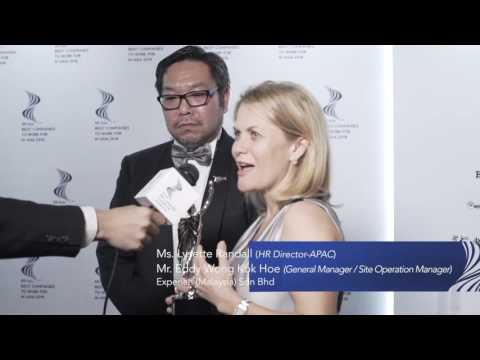 HR Asia Best Companies To Work For In Asia 2016 Malaysia's Winners Interview Video