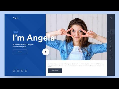 Best Personal Portfolio Web Design Templates Inspiration 2021