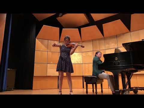 Cornell University Application Music Supplement: Violin