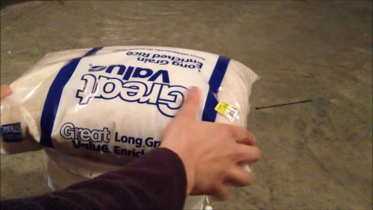 Food Storage Times Best Method For Storing White Rice Long Term Survival Food