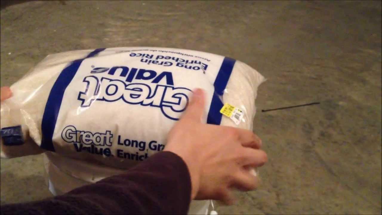 Best Method For Storing White Rice Long Term - Survival Food Storage - Part 1 - YouTube & Best Method For Storing White Rice Long Term - Survival Food Storage ...