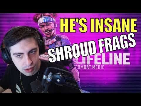 SHROUD ▪ Destroying Kids In Ranked 【Apex Legends】