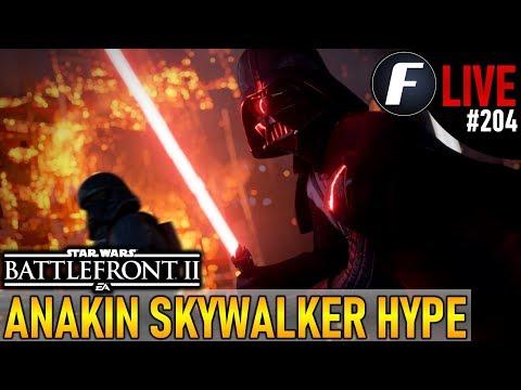 ANAKIN SKYWALKER HYPE! Star Wars Battlefront 2 Live Stream #204 thumbnail