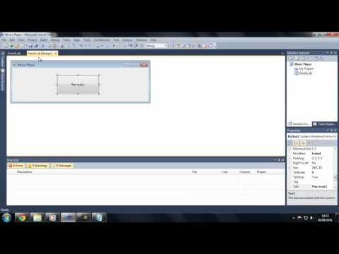 How to play music within a VB.net application
