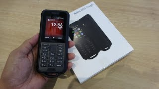 Nokia 800 Tough black unboxing