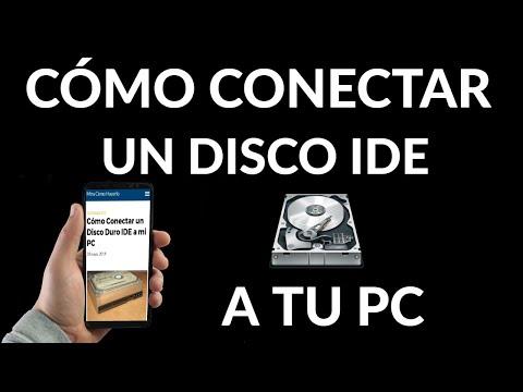 Cómo Conectar un Disco Duro IDE a tu PC