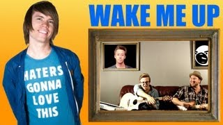 Repeat youtube video Wake Me Up - Avicii (Official Music Video Zoomception Cover) - Roomie & Friends
