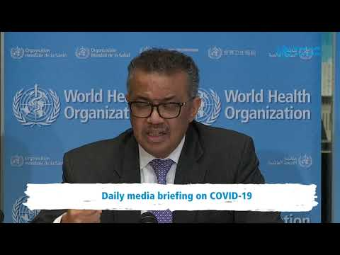 Live from WHO HQ - Daily Press Briefing on COVID-19 --Coronavirus 9MARCH2020