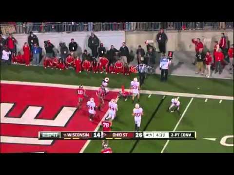 Aaron Henry tackle on OSU