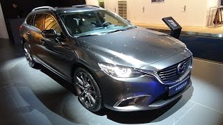 2017 Mazda 6 Wagon - Exterior and Interior - Auto Show Brussels 2017