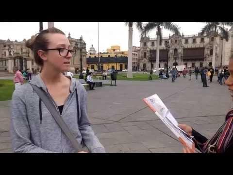 INTERVIEW A TOURIST  A05