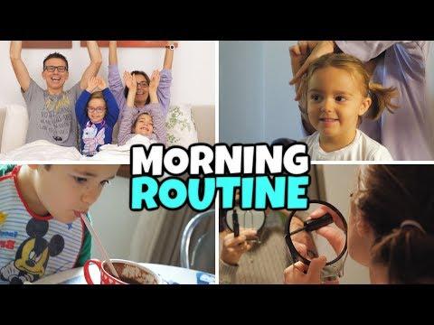 MORNING ROUTINE Famiglia GBR - Speciale 500.000 iscritti