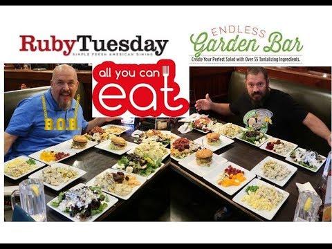 AYCE Ruby Tuesday Salad Bar With Brandon