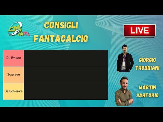 CONSIGLI FANTACALCIO: ultimissime probabili formazioni Serie A, 27a giornata LIVE