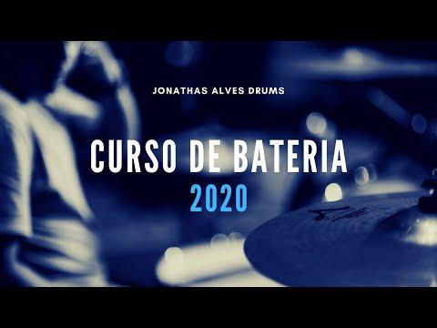 NOVO CURSO DE BATERIA - JONATHAS ALVES DRUMS