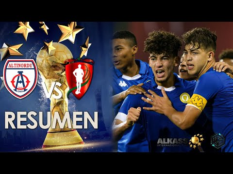 Altinordu FK vs Mohammed VI Academy Al kass International Cup 2020