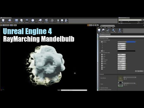 Unreal Engine 4 Tutorial RayMarching Mandelbulb