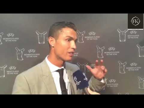Cristiano Rolando Tells His Secret Of Success In Interview