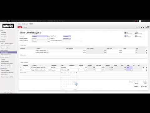 Introducing Sales Contract module