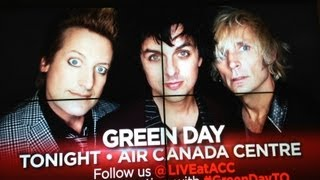 GREEN DAY Know Your Enemy LIVE | Toronto 2013