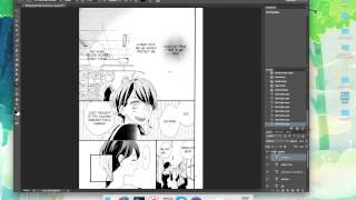 Manga Typesetting Tutorial