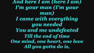 Download Trey Songz-One love lyrics MP3 song and Music Video