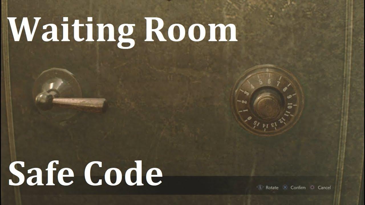 Resident Evil 2 Remake Safe Code