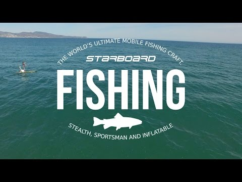 2016 Fishing Boards - Starboard SUP Stealth and Sportsman