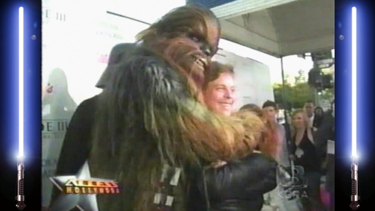 Star Wars Episode Iii Revenge Of The Sith Movie Premiere Celebrations Youtube