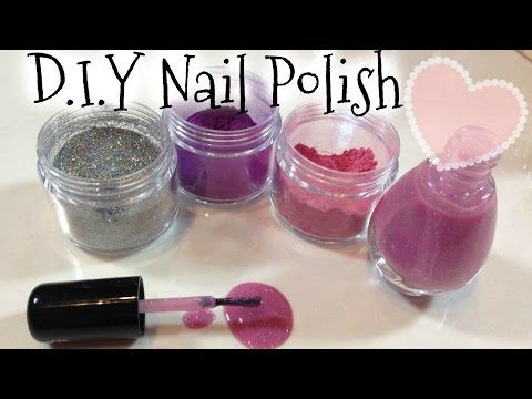 DIY Nail Polish Colors Tutorial & Clean Up Spilled Nail Polish Trick