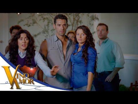 David sorprende a Luciana en brazos de Miguel - Vino el amor