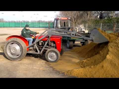 how to change lift pump on 1135 massey video