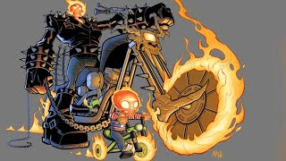30+ Hilariously Funny GHOST RIDER Comics To Make You Laugh