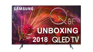 2018 Samsung QLED Q8F Unboxing