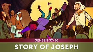 Sunday School Lesson - The Story of Joseph - Genesis 37-50 - Bible Teaching Stories for Christians