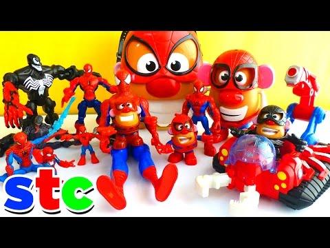 Mr Potato Head Marvel Avengers Collection Spiderman